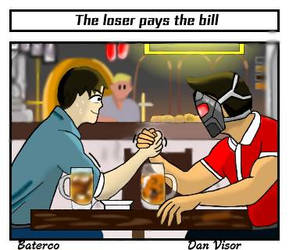 Who pays the bill? by TheVisorDan