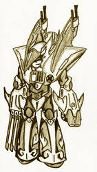 Rockman - Enemy WarAirman by Dionisante