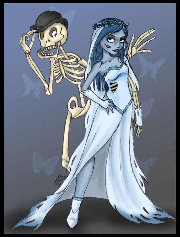 Happy HalloweenCorpse Bride by niteshadepromise on deviantART