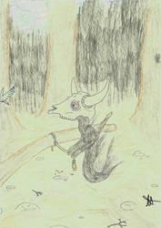 Drekavac  (artfight) by Claircendre