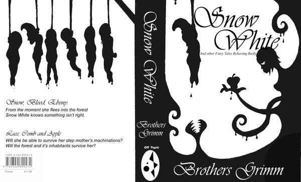 Black And White Book Cover : Snow white book cover by leech boy on deviantart