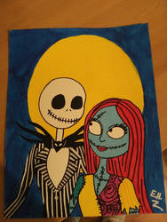 Jack and Sally by Cartoonsarelife1996
