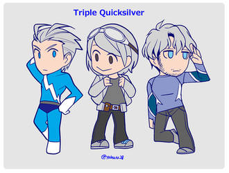 triple quicksilver by yahuxx28