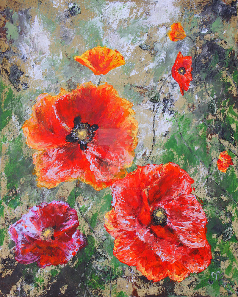Poppies by Magnolianna
