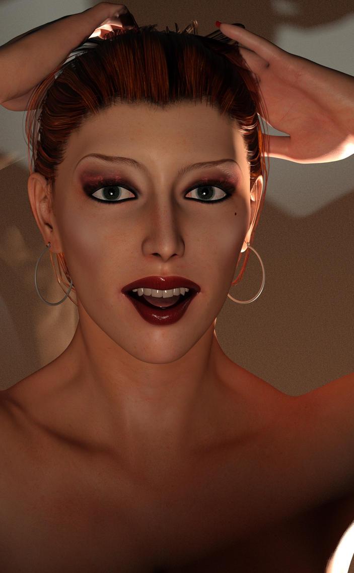 Jennifer Portrait by gymfritz