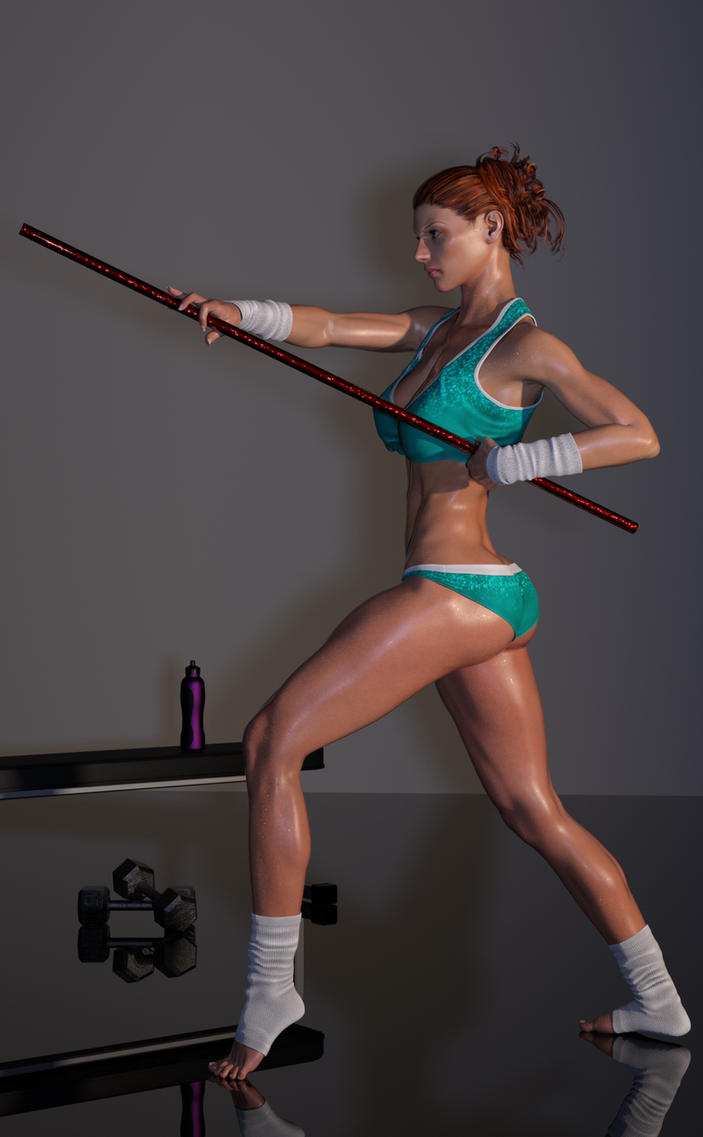 Jennifer Pole Workout 2 by gymfritz