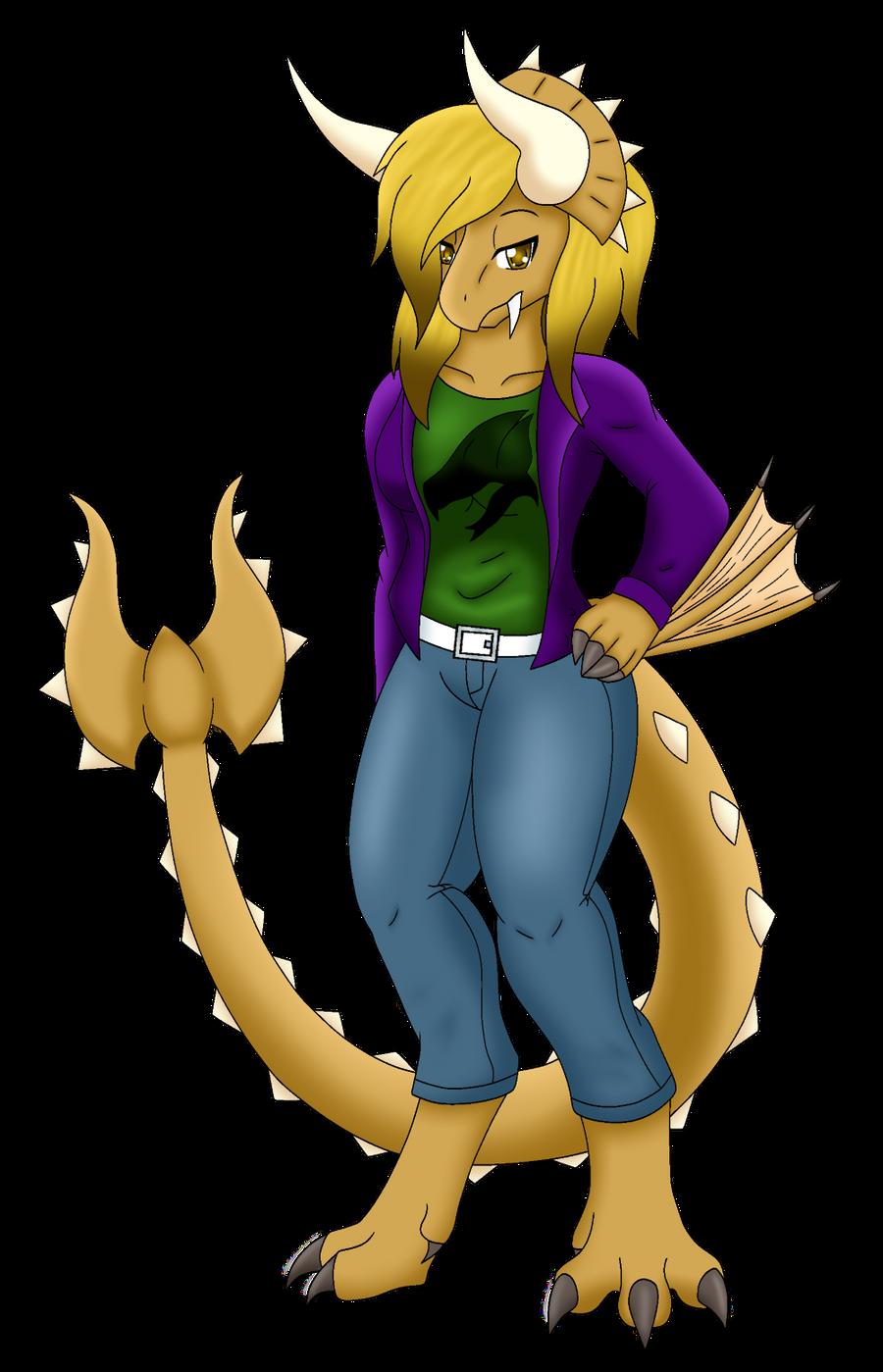 Tifa Lockhorn by Kimerasaurus