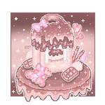 kawaii cupcake box