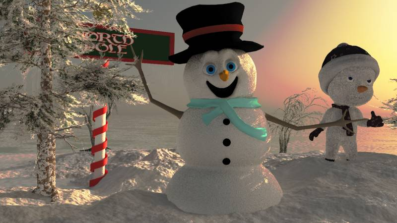 Snowmen by fractal2cry