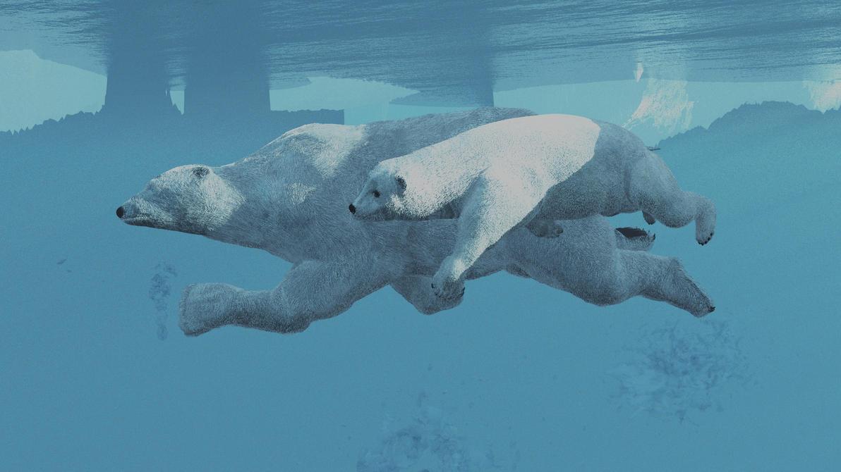 Polarbears1a by fractal2cry