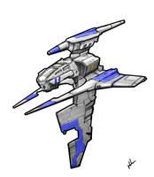 Space Fighter by Digital-Kebap
