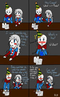 What's A Kiss? Pt.1 (Fnaf) Comic Dub! by RedThunder101