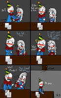 What's A Kiss? Pt.3 (Fnaf) Comic Dub! by RedThunder101