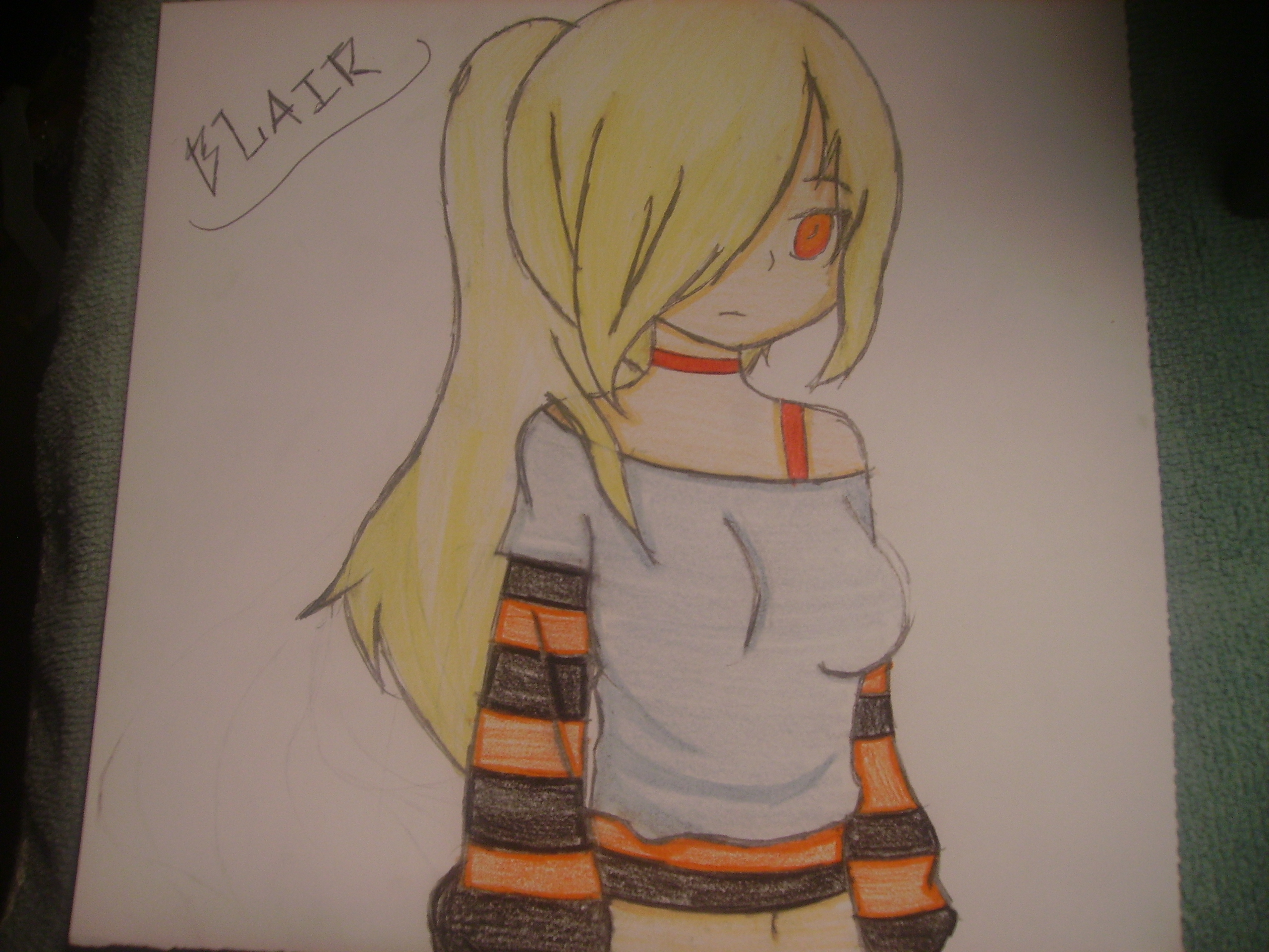 CreepyPasta Character: Blair Assisted Suicide by KissyMissy-Tainted