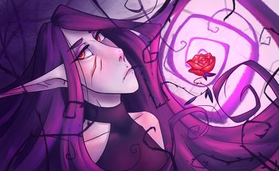 A Blackened Bloom