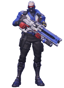 Soldier 76 PNG