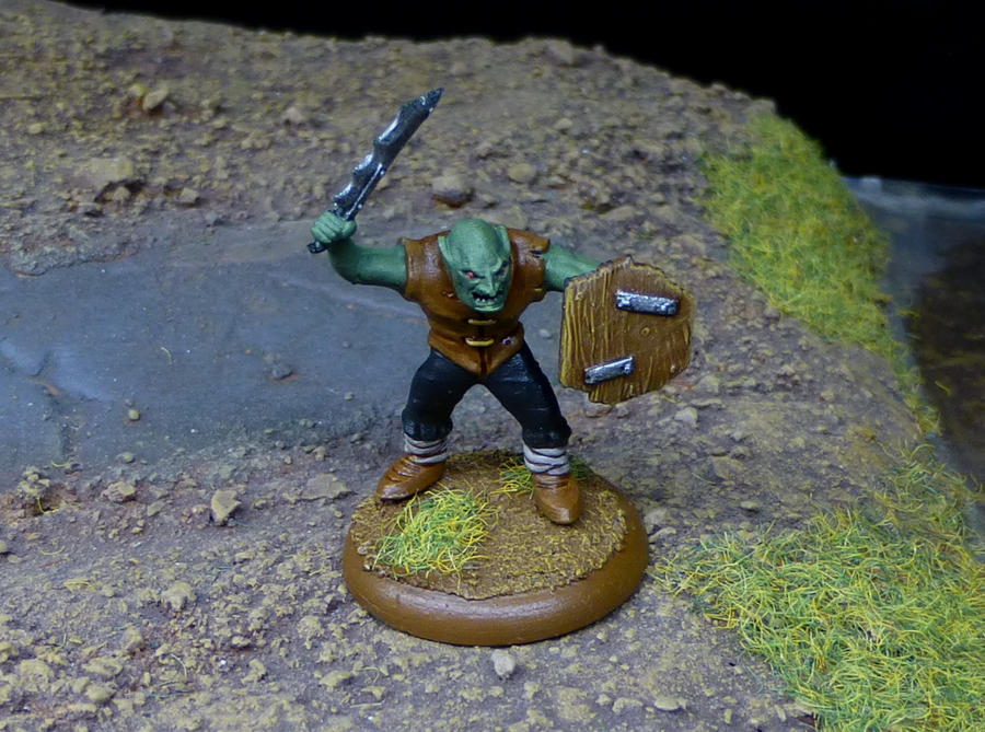 Goblin Painted by o0Tasker0o