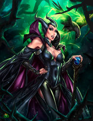 Maleficent by Jgass
