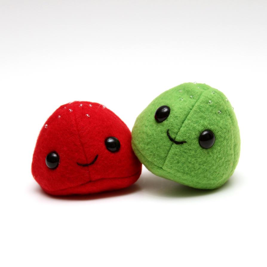 Gumdrop twins by FainneRoisin