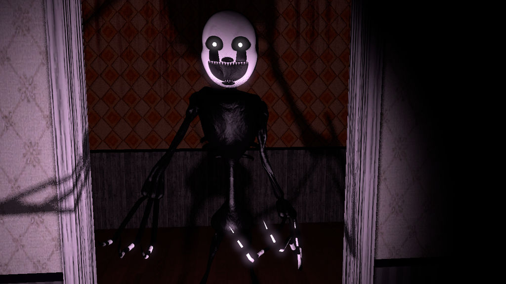 Nightmarionne/Nightmare Puppet FNAF 4:COME HERE! by