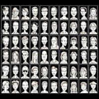 Portraits by Noumier