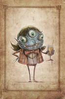 Victorian Monster by Noumier