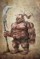 Mongol Warrior by Noumier