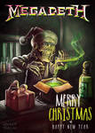 Megadeth Christmas Card 2015