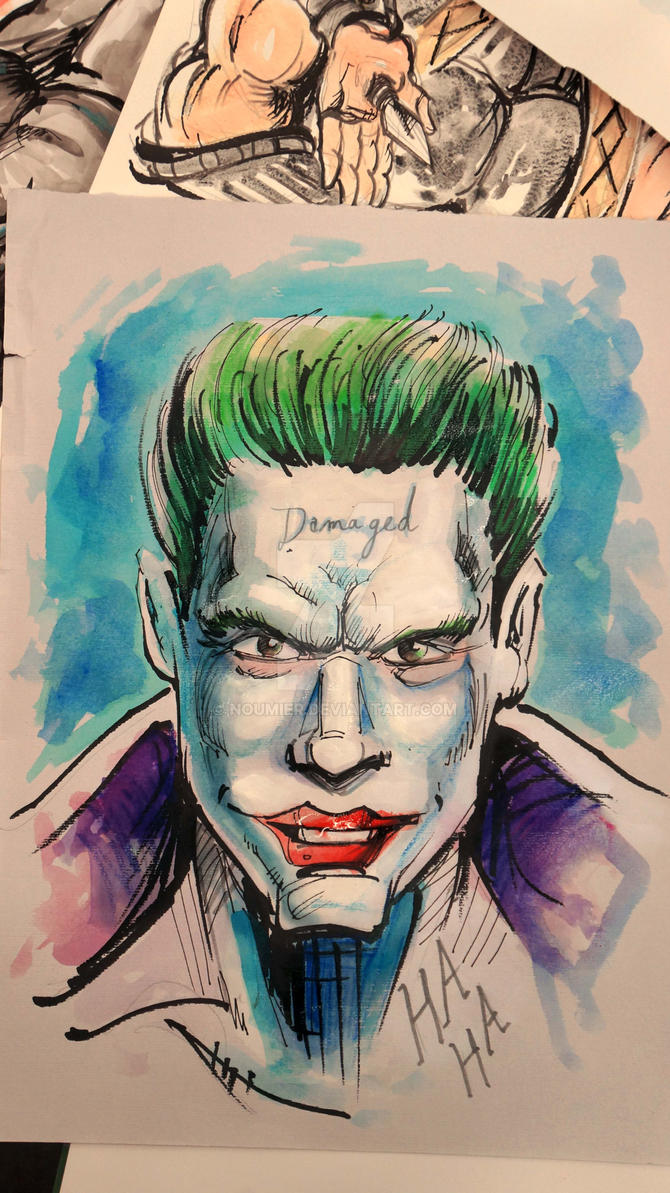 Jared Leto Joker Suicide Squad by Noumier