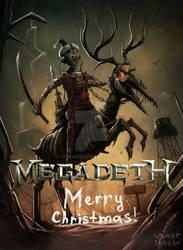 Megadeth Christmas card 2017