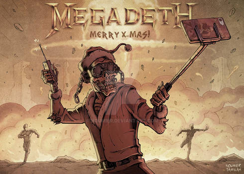 Megadeth Christmas Card 2019