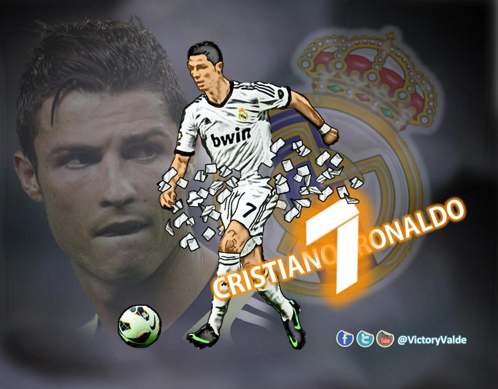 Real Madrid Wallpaper Ronaldo Dp Bbm