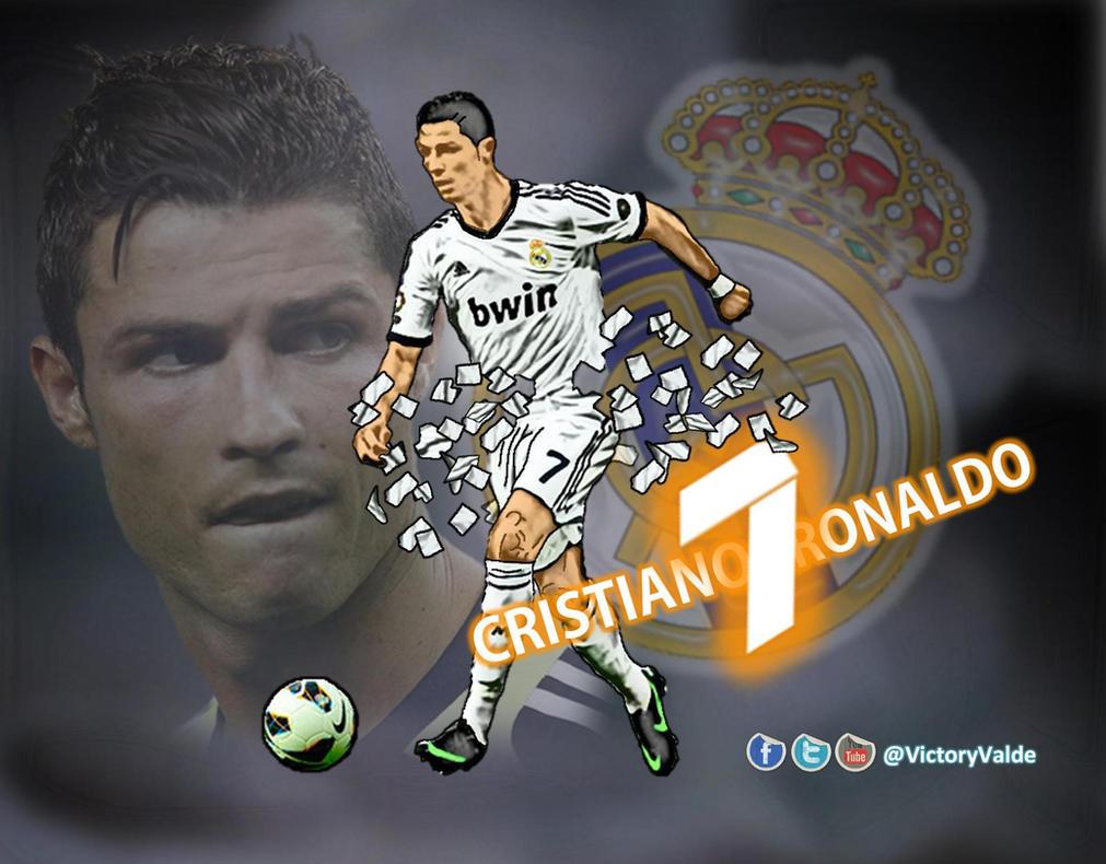 Real Madrid   Cristiano Ronaldo 2012 13 Wallpaper By VictoryValde