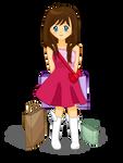 CR - Shopping Girl