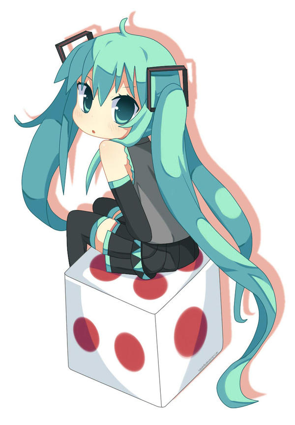 Miku Dice by hanahello