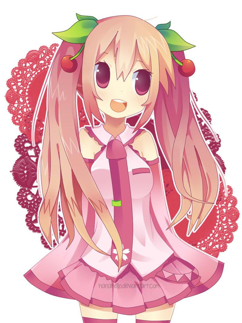 Sakura Miku by hanahello