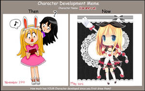 Character Development meme by hanahello