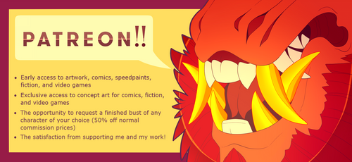 Patreon! by GoldieClaws