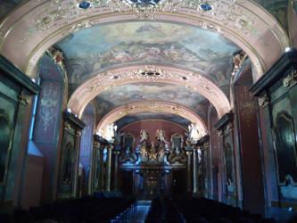 La chapelle aux miroirs by Finsterne