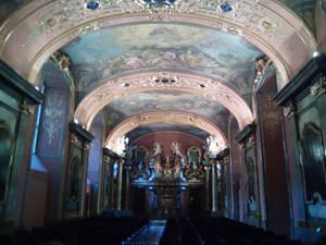 La chapelle aux miroirs
