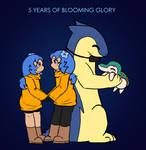 Blooming Glory: 5 Years