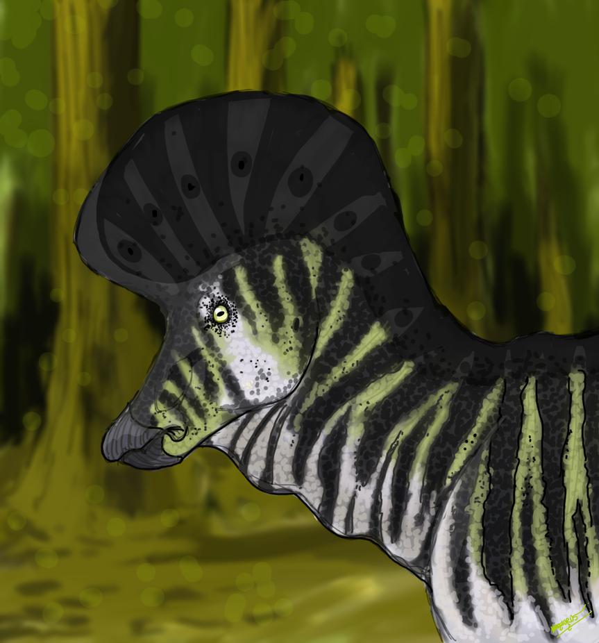 Lambeosaurus by namodinosaur