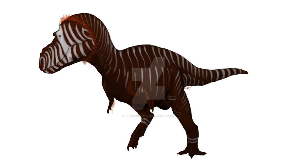 Siamotyrannus Isanensis by namodinosaur on DeviantArt
