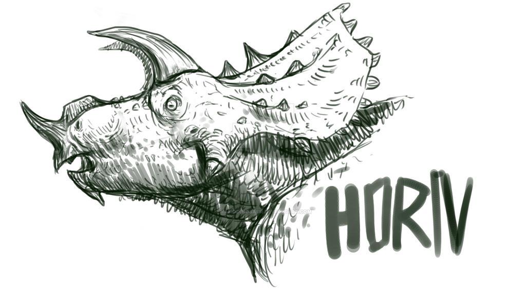#HORN by namodinosaur