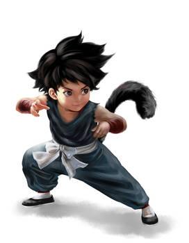 Goku-blue