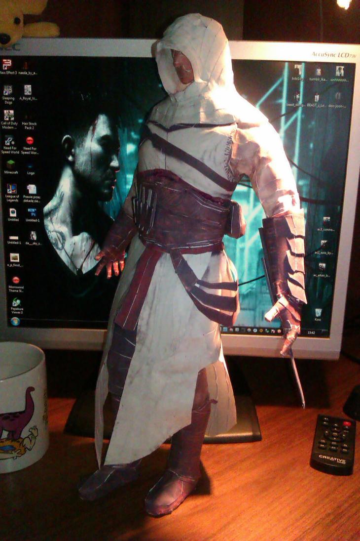 Assassin's Creed Altair Ibn'La-Ahad (Pepakura) by NeoAssassin