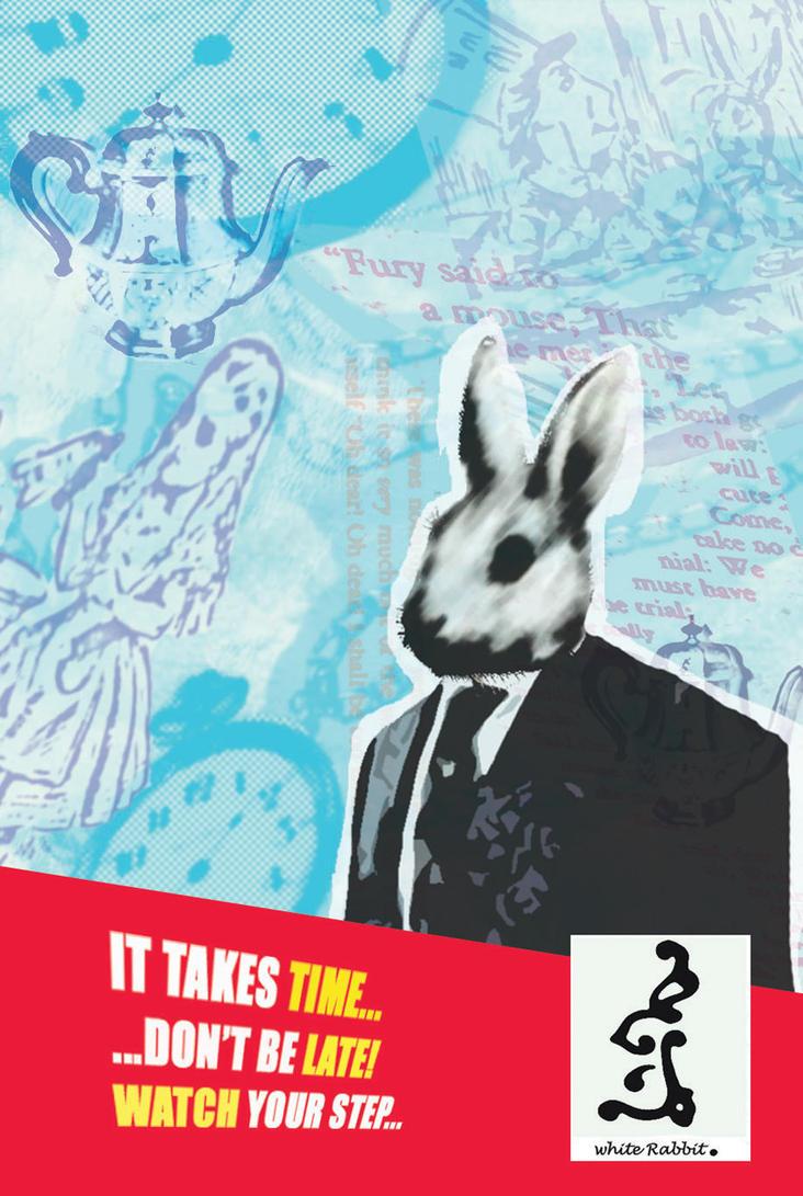 The White Rabbit Time by katty-kat