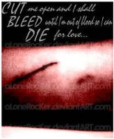 cut bleed die by alonerocker