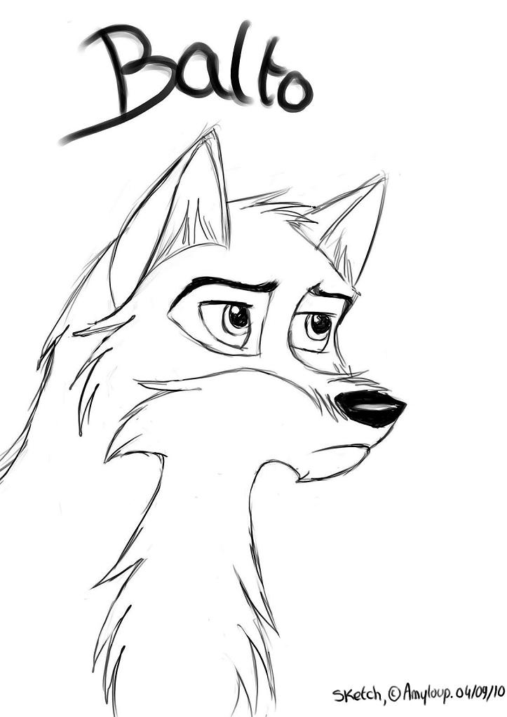 Balto Howling Coloring Pages bigking keywords and pictures