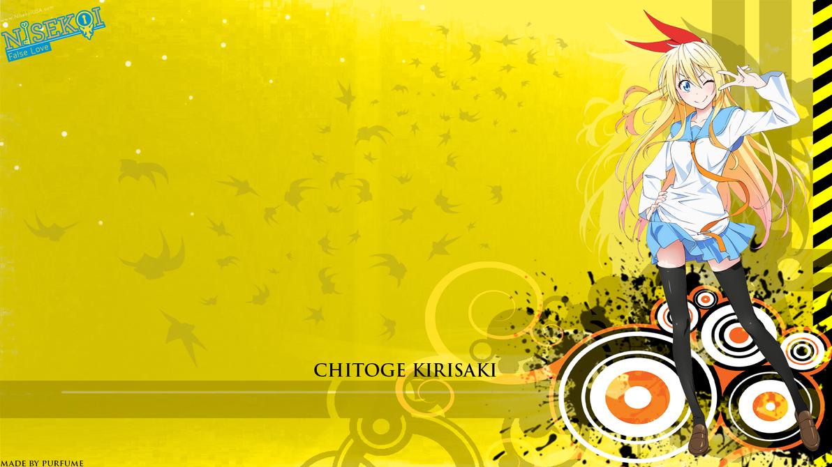chitoge kirisaki wallpaper by nitroraven24 on deviantart